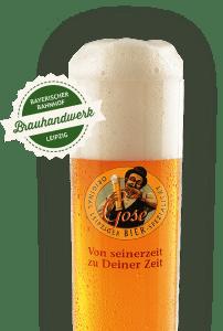 Terras drankjes Gose bier